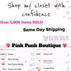 Other - Shop My Closet with Confidence 💖